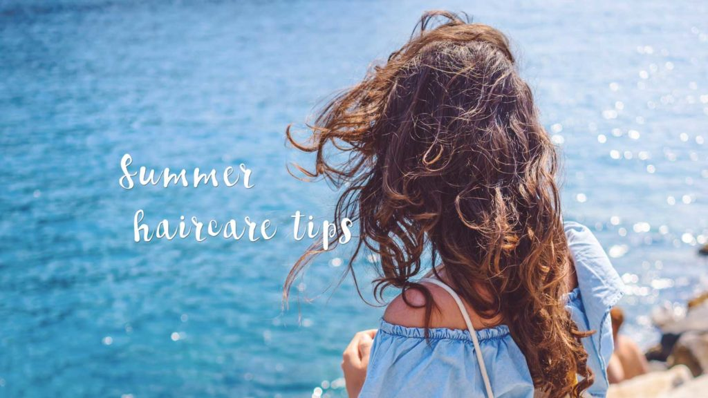 Five essential tips for summer hair care